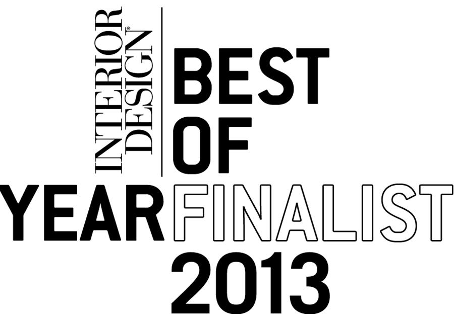Hmwhite Finalist For Best Of The Year Awards Program For Interior Design Magazine